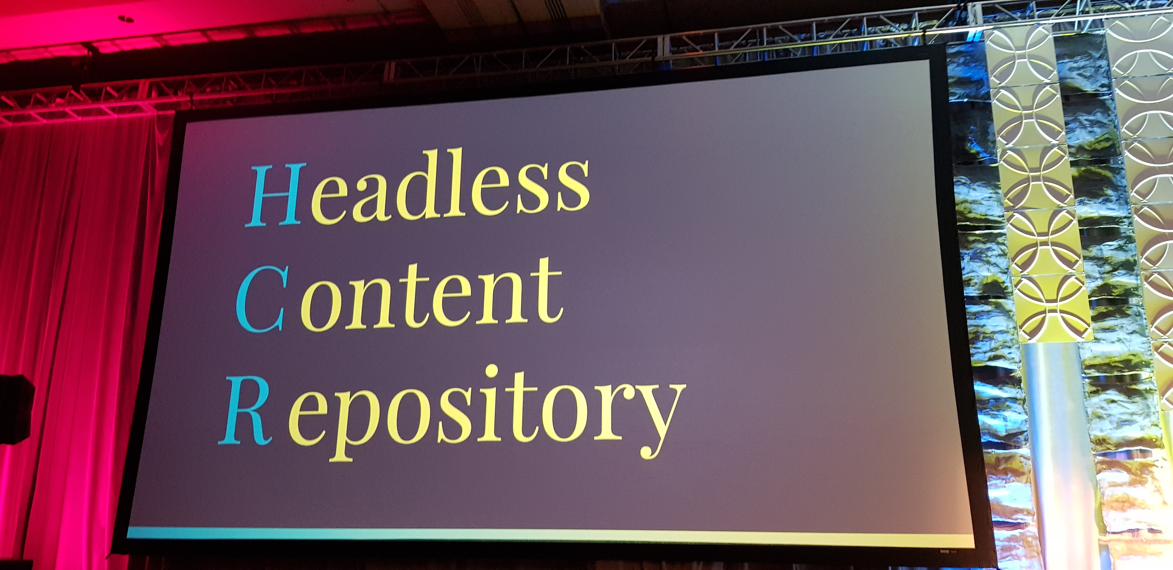 Headless Content Repository